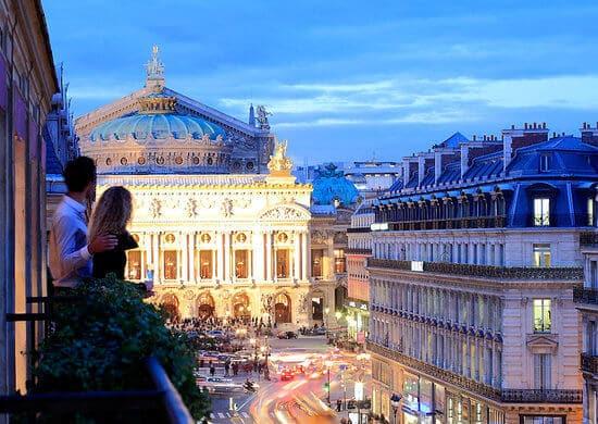 Hotel Edouard VII em Paris
