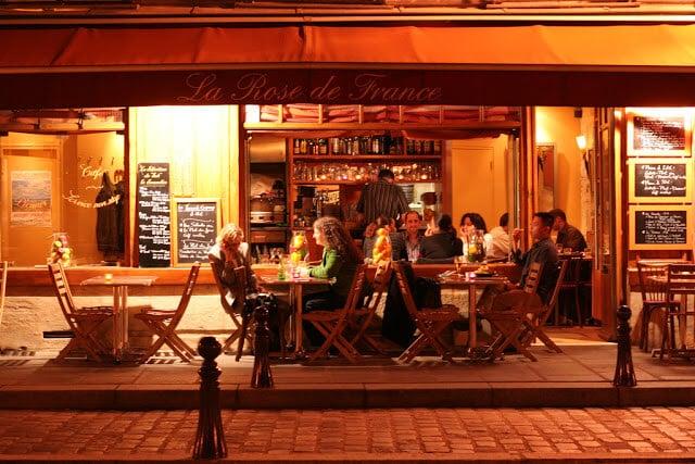 Restaurante La Rose de France em Paris