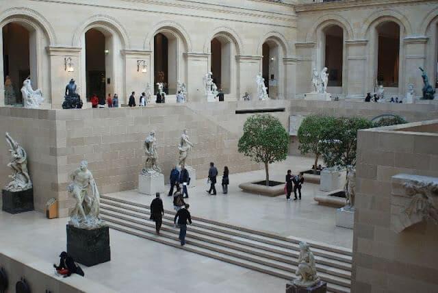 Atrações de Paris em janeiro