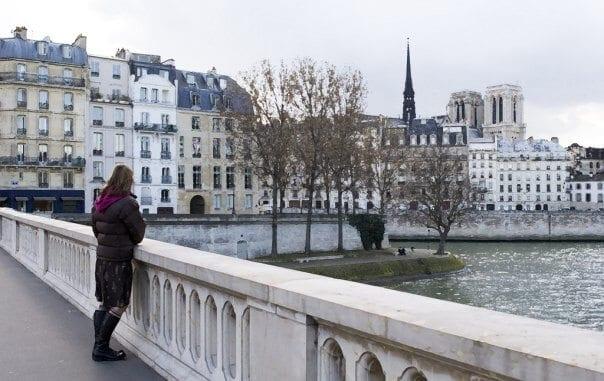 Vista de Paris em Março