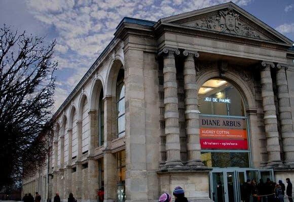 Coleções de arte do Jeu de Paume em Paris