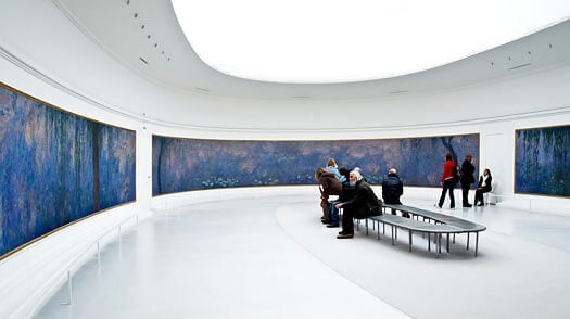 Museu de l'Orangerie em Paris