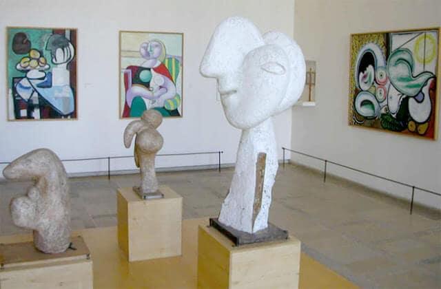 Coleções de arte do museu de Picasso em Paris