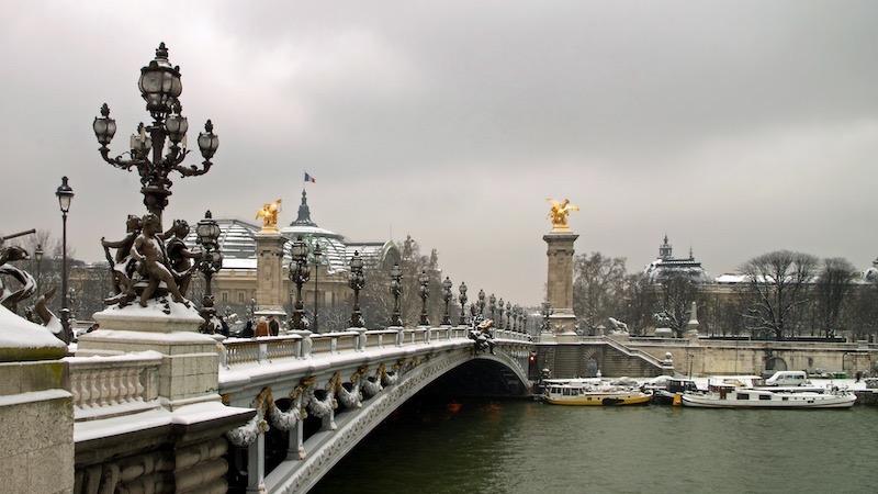 Pont Alexandre III em Paris