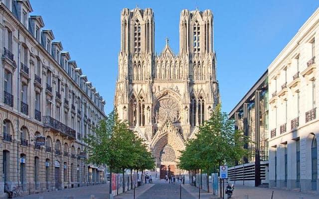 Reims perto de Paris
