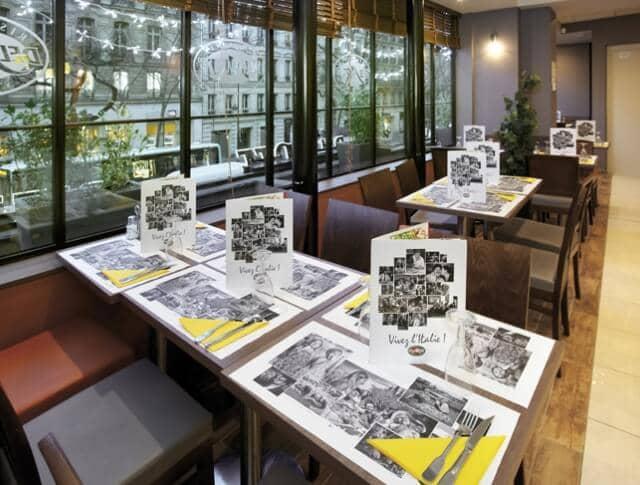 Comer no Del Art em Paris