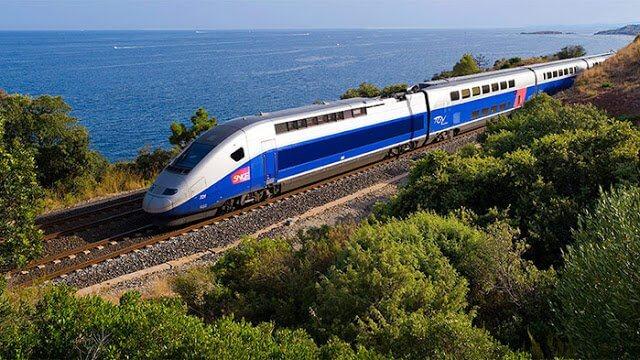 Viagem de trem de Paris a Madri
