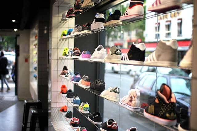 Loja Adidas em Paris