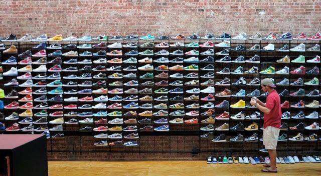 Loja Nike Running em Paris