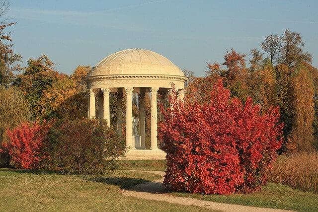 Templo do amor em Versalhes