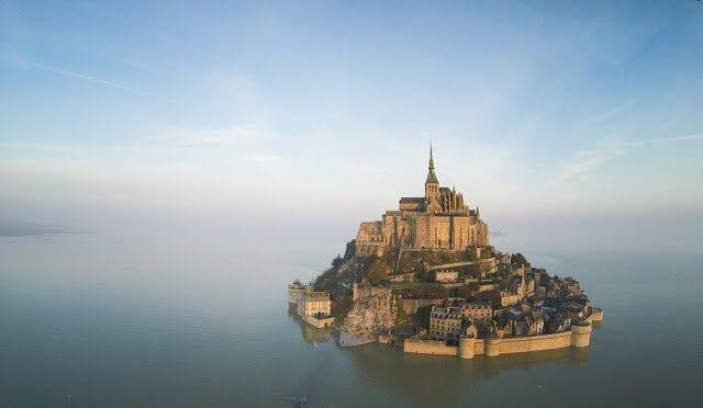 Mont Saint Michel e Normandia na França