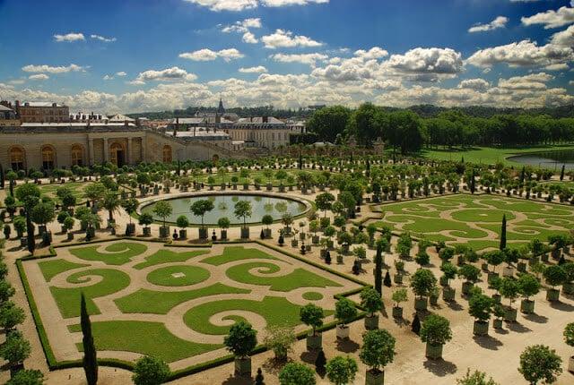 Jardim de Versalhes, Versalhes