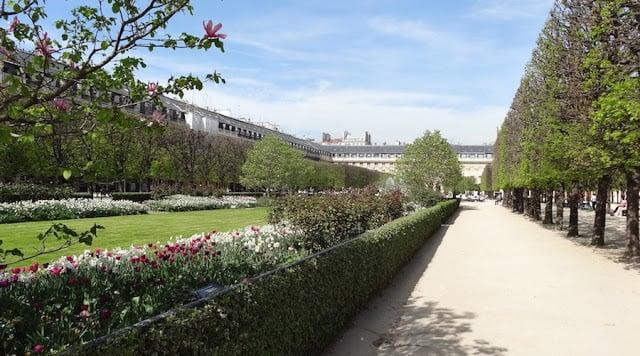Jardim do Palais Royal