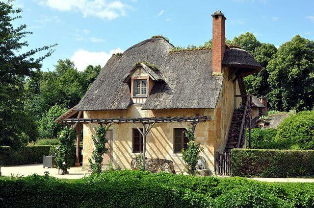 A vila e refúgio da rainha Maria Antonieta em Versalhes