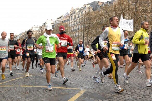 Corredores em Paris