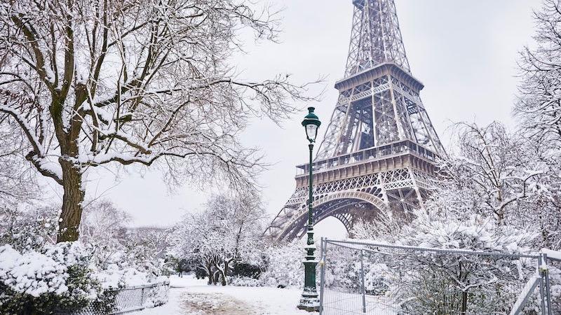 Neve em Paris