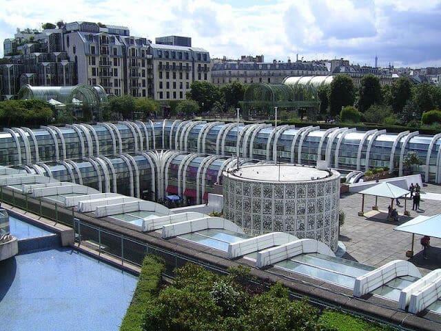 Bairro Les Halles em Paris