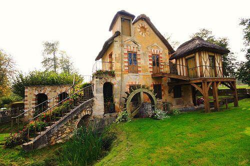 A vila e refúgio da rainha Maria Antonietta em Versalhes
