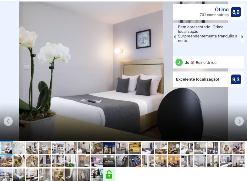 A l'Hotel des Roys em Versalhes