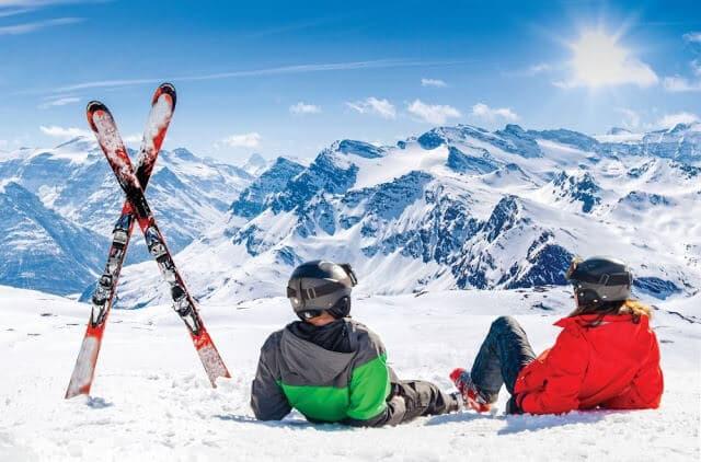 Lugar para esquiar na França