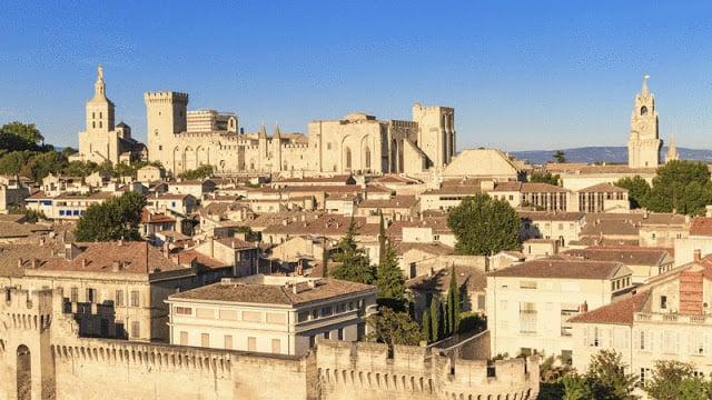 Cidade de Avignon na França