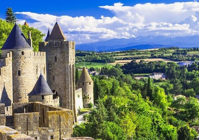 Carcassonne na França