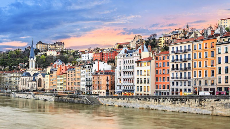 Rio Saône em Lyon