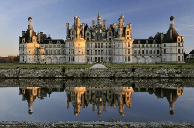 Castelos do Vale do Loire na França