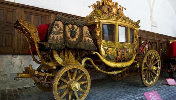 Museu das carruagens em Versalhes