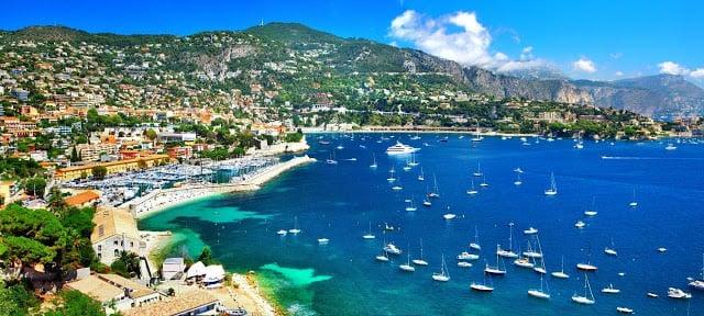 Cidade de Nice na França