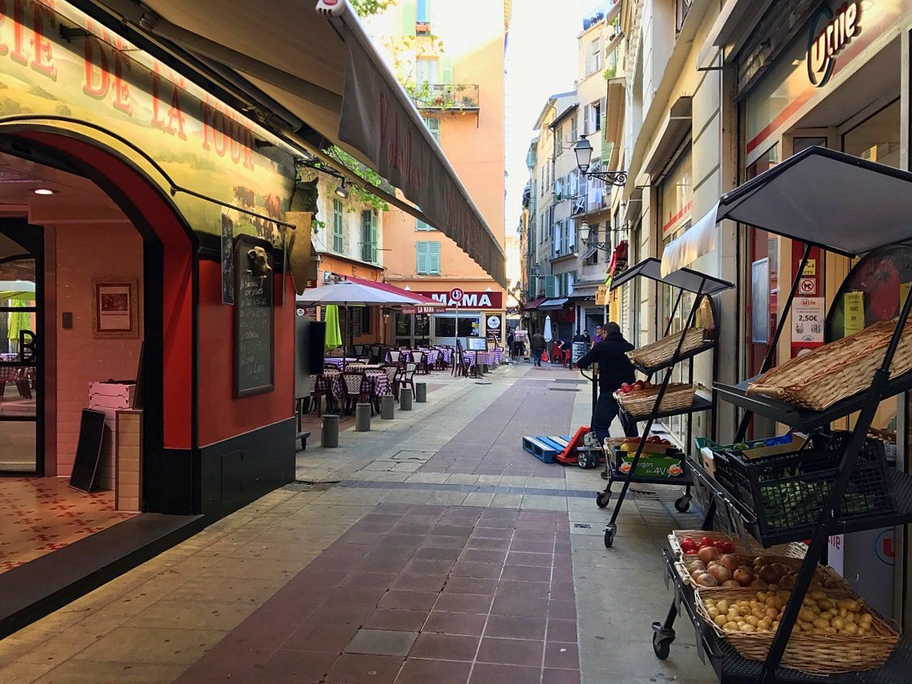 Restaurantes em Vieux Nice