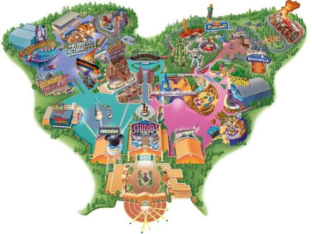 Parque Walt Disney Studios em Paris