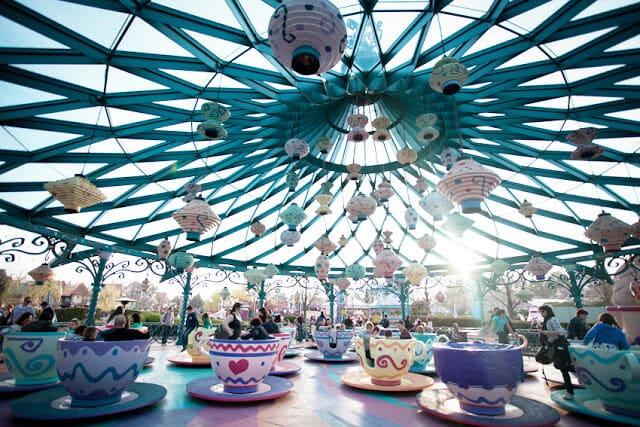 Brinquedo do Parque Disneyland em Paris
