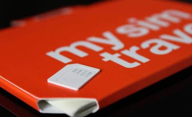 Chip mysimtravel para usar o celular na Europa