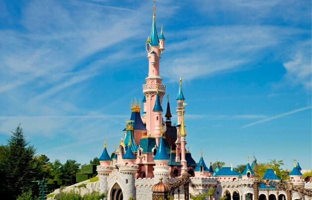 Castelo da Disneyland Paris