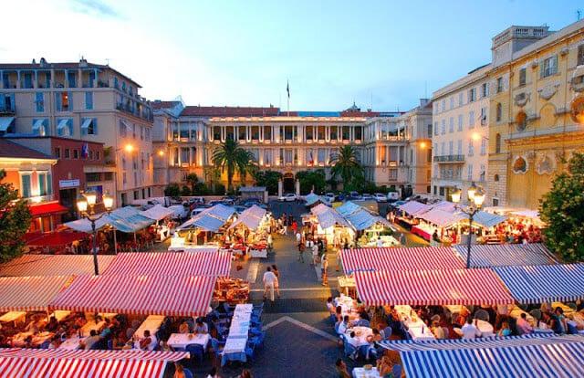 Feirinha em Vieux Nice