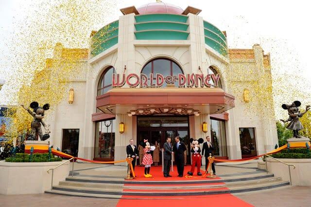 Restaurante World of Disney
