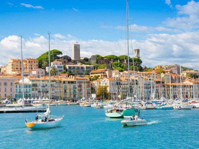 Barcos em Cannes