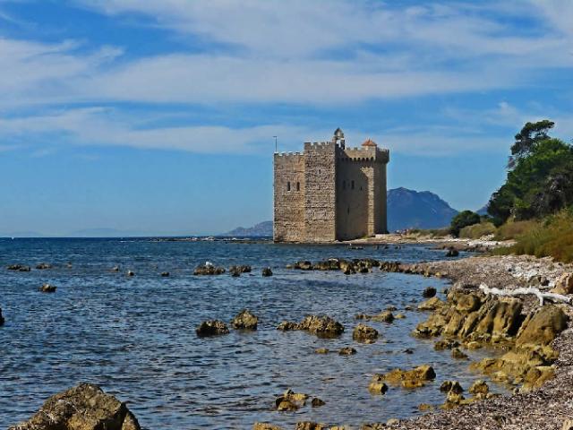 Vista do Monastério Fortificado