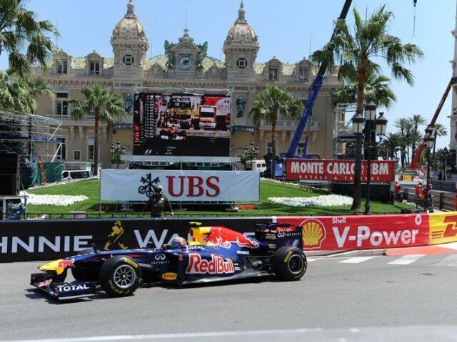 Circuito de Mônaco da Fórmula 1