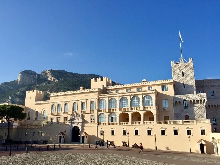 Fachada do Palácio do Príncipe de Mônaco
