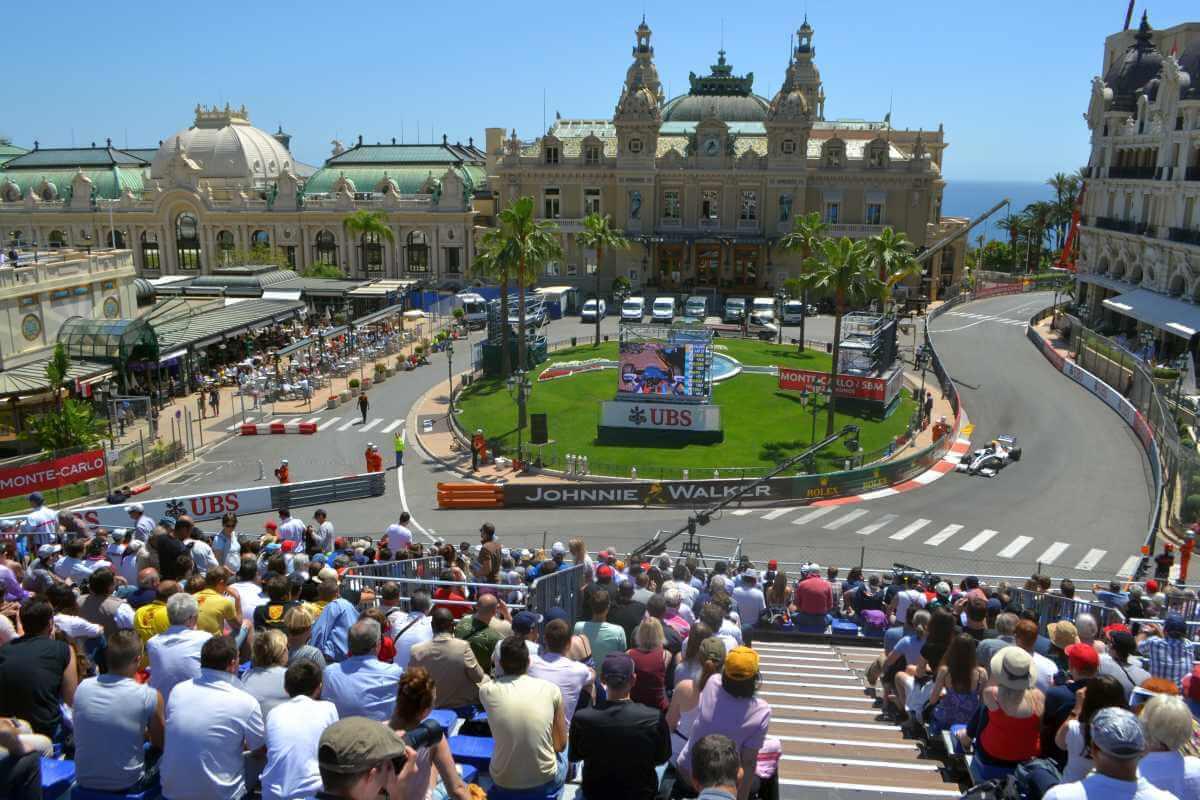 Ruas de Fórmula 1 em Mônaco