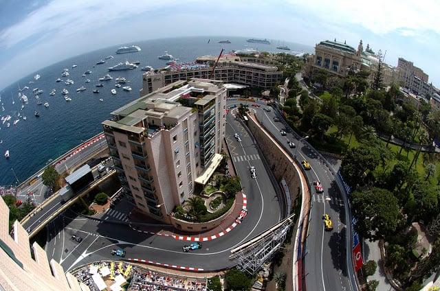 Circuito da Fórmula 1 em Mônaco
