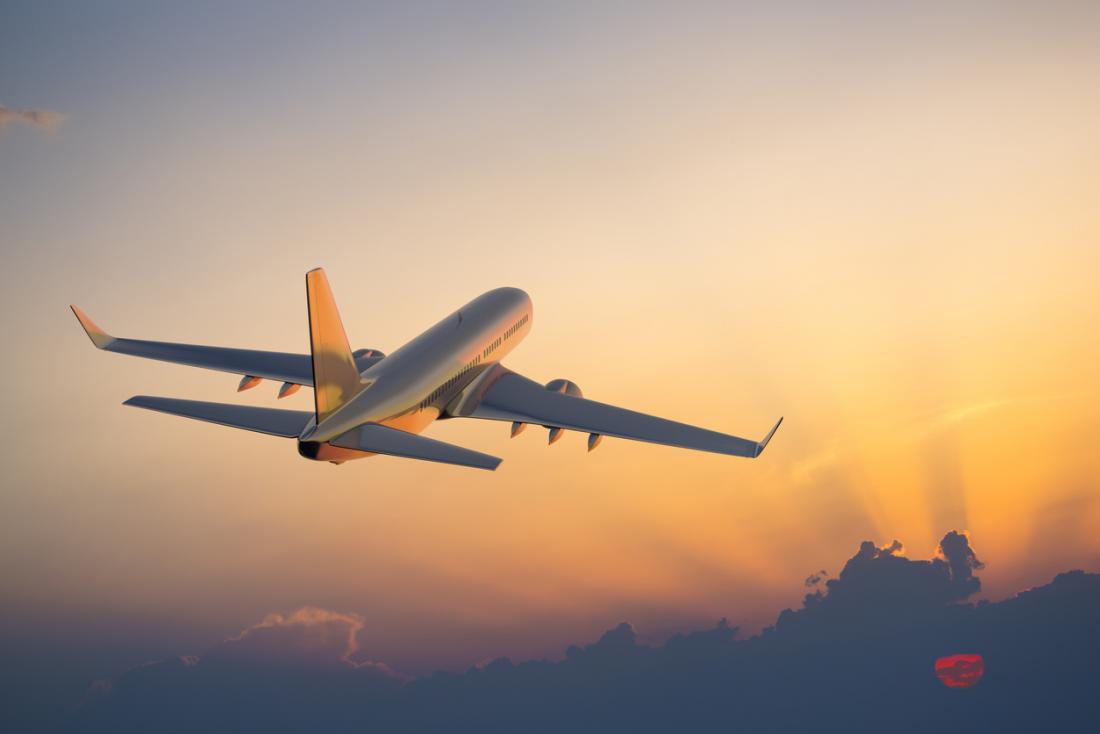 Avião na Franças