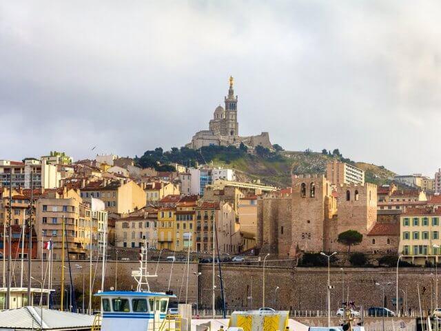 Clima e temperatura em Marselha