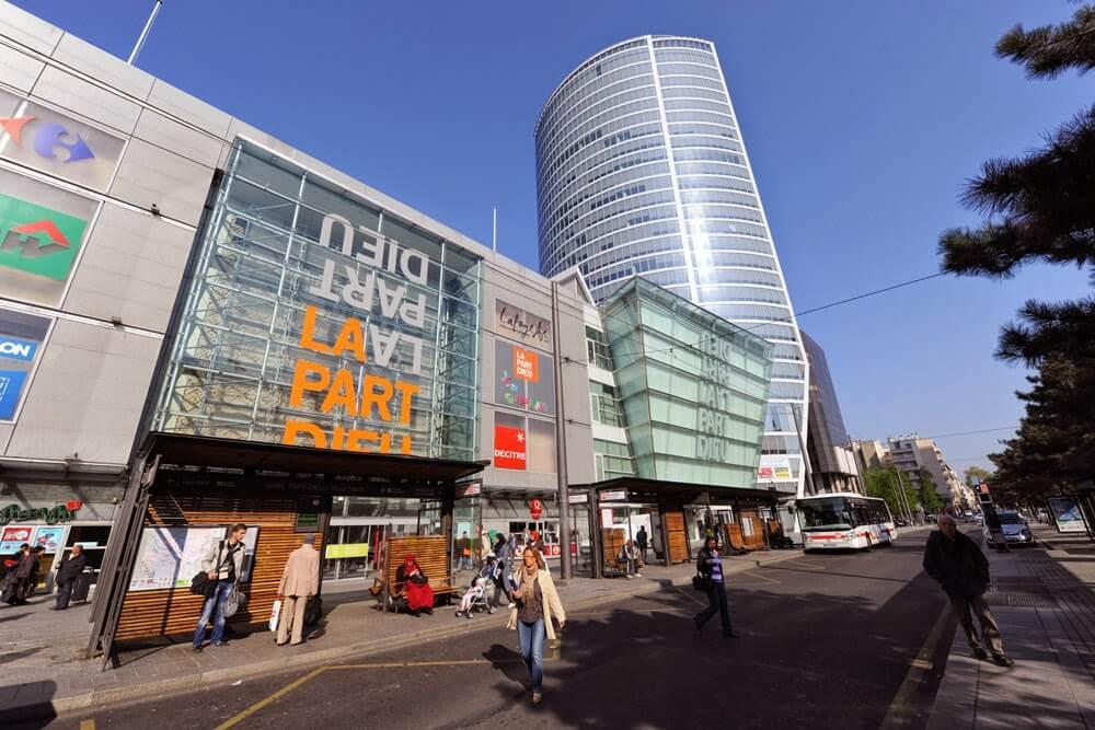 Part-Dieu Shopping em Lyon