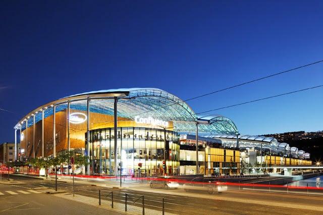 Vista do Shopping em Lyon