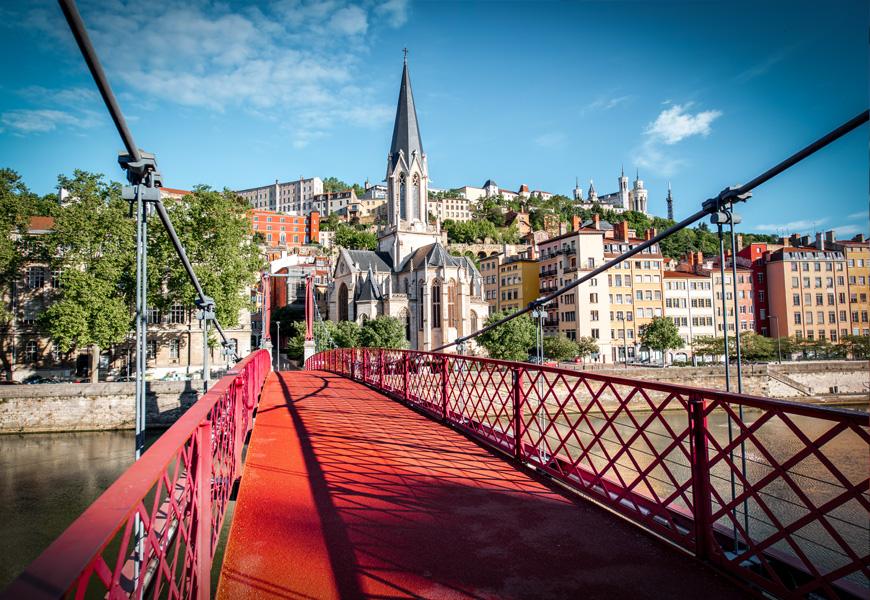 Ponte em Lyon