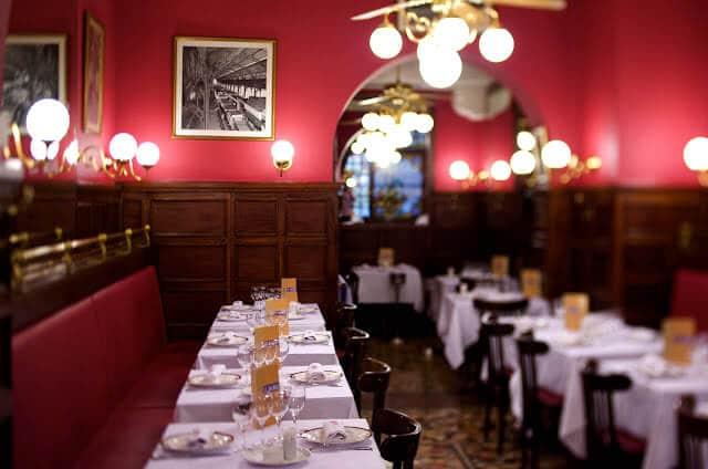 Restaurante em Lyon