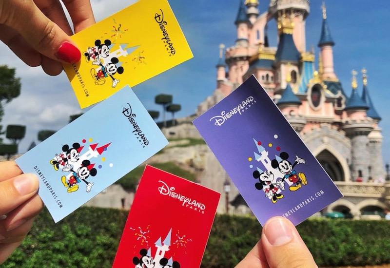 Ingressos na Disneyland Paris